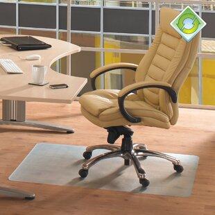 Ecotex Revolutionmat Hard Floor Straight Chair Mat & Chair Mats Youu0027ll Love | Wayfair