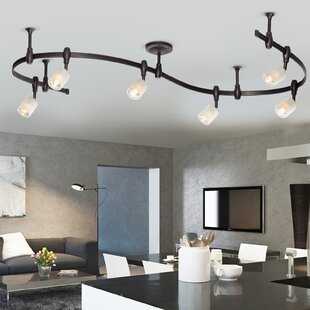 benny flex rail 6 light track lighting kit - Lighting Sets For Living Room