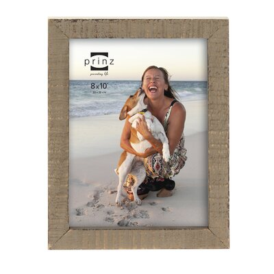 Prinz Sweet Water Distressed Solid Wood Picture Frame Size: 4 x 6, Color: Natural
