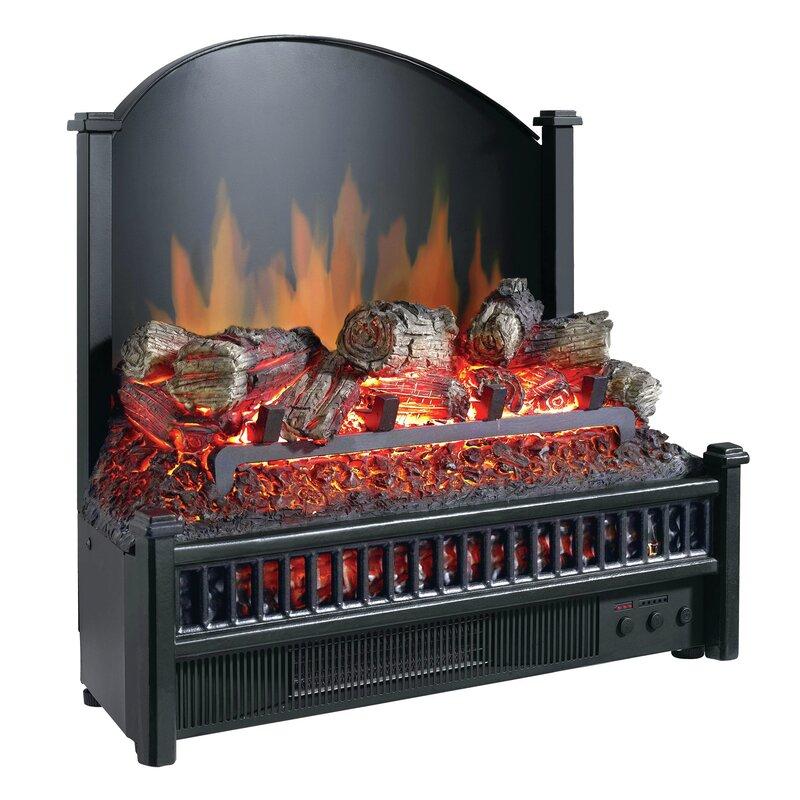 Pleasant Hearth Electric Fireplace Logs Heater & Reviews | Wayfair