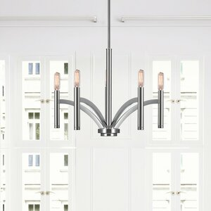 Valencia 5-Light Candle-Style Chandelier