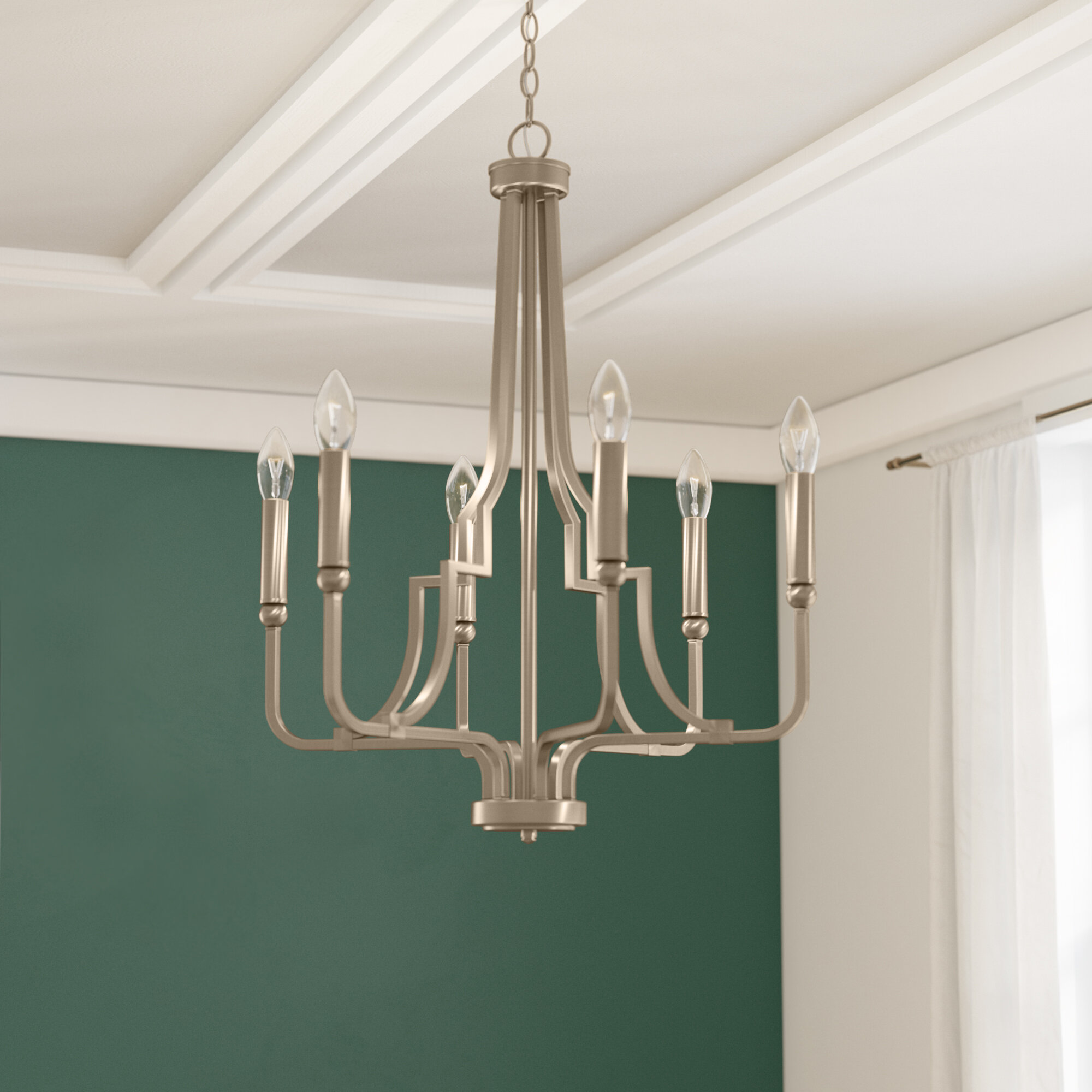 Three posts climsland 6 light candle style chandelier wayfair