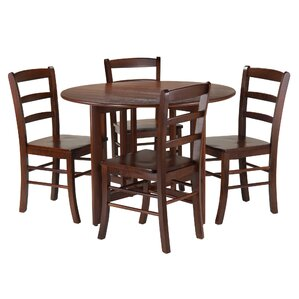 Columbia 5 Piece Dining Set by Red Barrel Studio