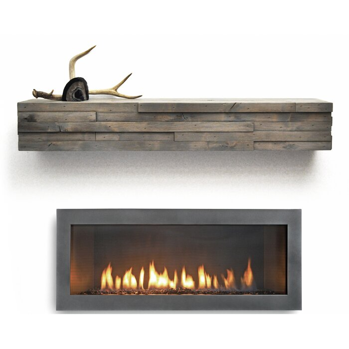 hewn antique mantels wood rustic mantel corner timber fireplace log mcclain