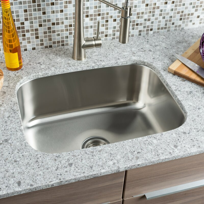 Classic Chef   Single Bowl Undermount Kitchen Sink