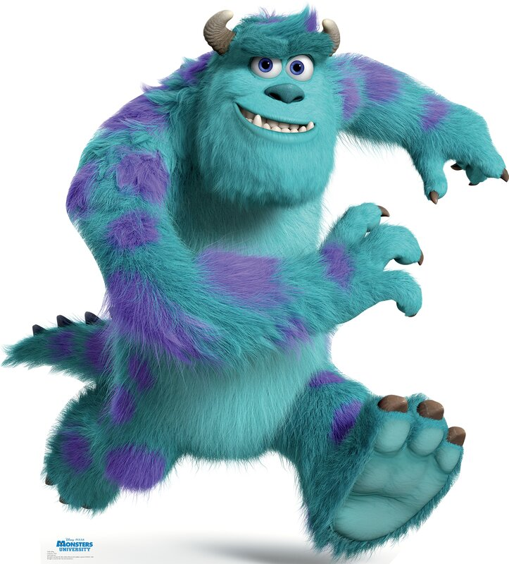 Advanced graphics sulley disney pixar monsters for Monster advanced search