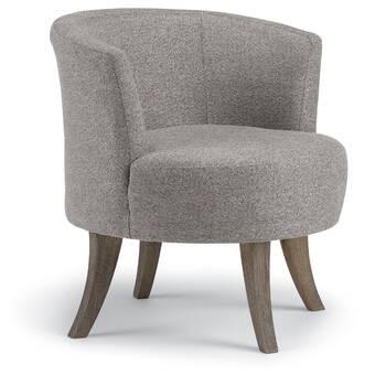 Laurel Foundry Modern Farmhouse Haywood Swivel Barrel Chair ...