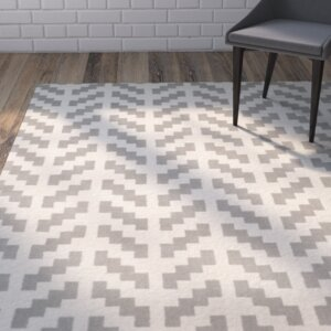 Martins Grey & Ivory Area Rug