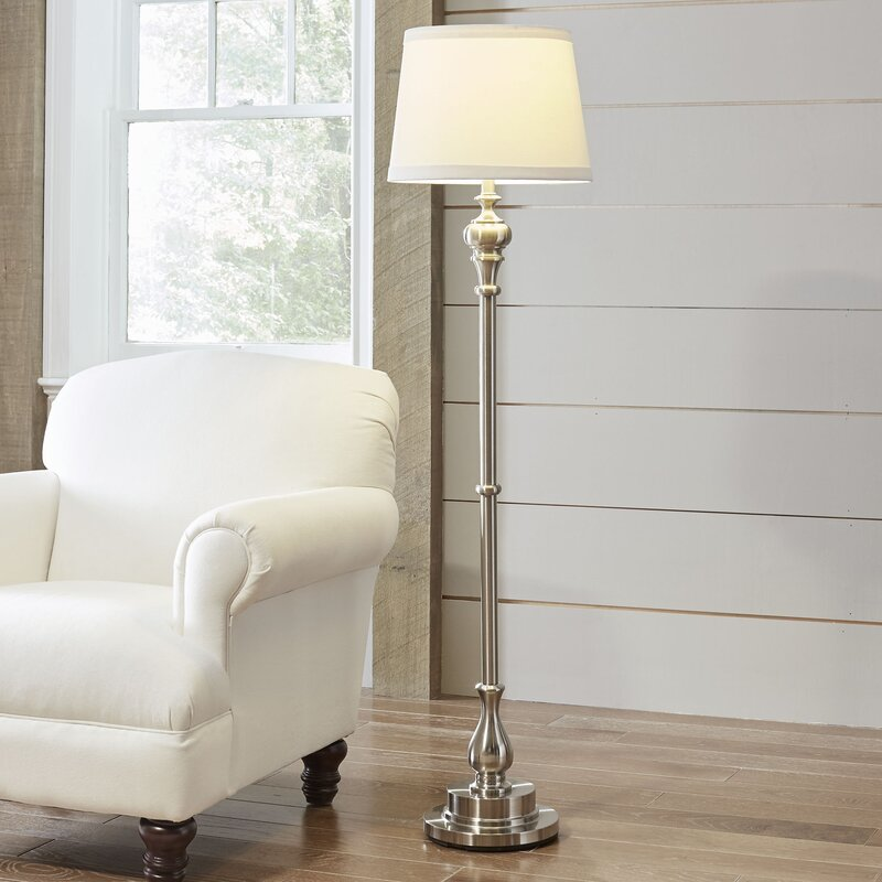 Liverpool 59 Quot Floor Lamp Amp Reviews Birch Lane