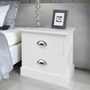 Middlefield French 2 Drawer Bedside Table