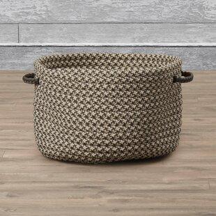 Charmant Burlington Outdoor Tweed Storage Basket