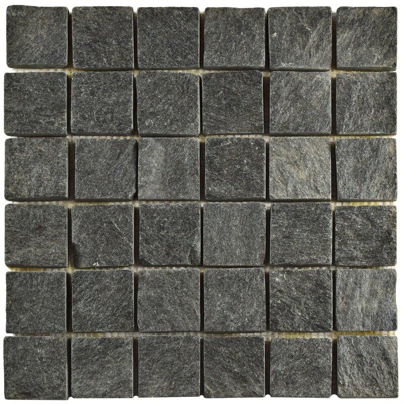 Peak Quad Quartzite 1 88 X Slate Mosaic Tile