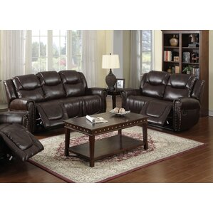 Marsh Island 2 Piece Leather Living Room Set by Red Barrel Studio