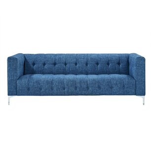Turquoise Tufted Sofa | Wayfair
