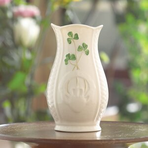 Shamrock Mini Celtic Vase