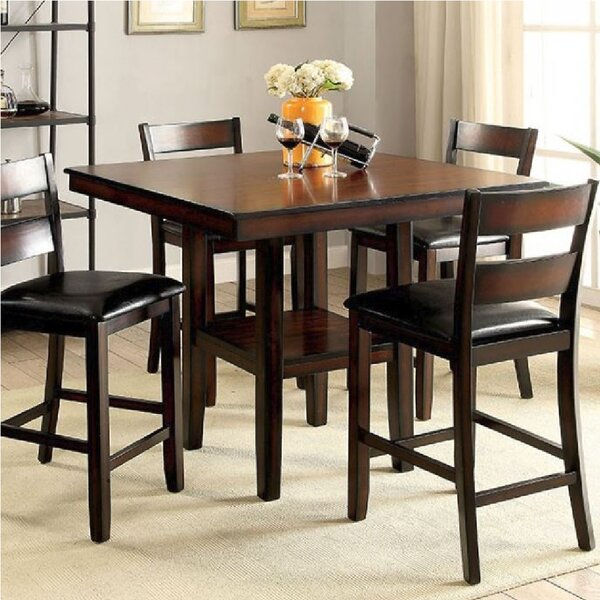 Kitchen Cabinet Warehouse Manassas Va: Millwood Pines Manassas 5 Piece Counter Height Dining Set