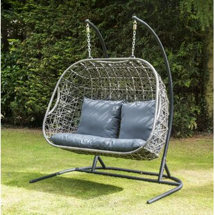 Lynne Hanging Chair with Stand by Kampen Living