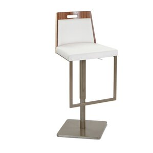 Tyler Adjustable Height Swivel Bar Stool ..
