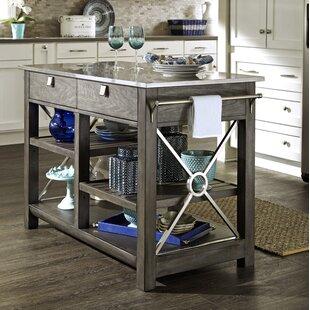 Stainless Steel Kitchen Islands & Carts You'll Love | Wayfair