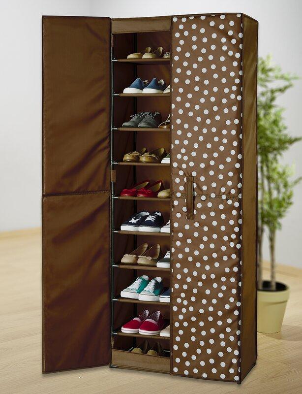 Pretty Woman 30 Pair Shoe Storage Cabinet