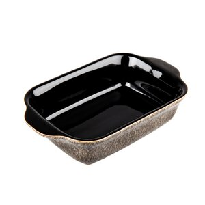 Praline and Praline Noir 18 oz. Small Oblong Dish