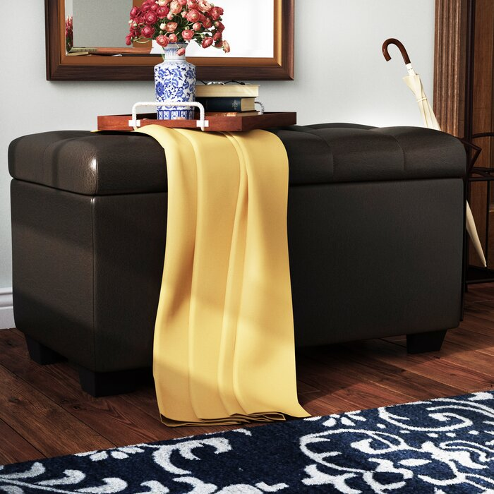 Surprising Christen Tufted Storage Ottoman Pabps2019 Chair Design Images Pabps2019Com