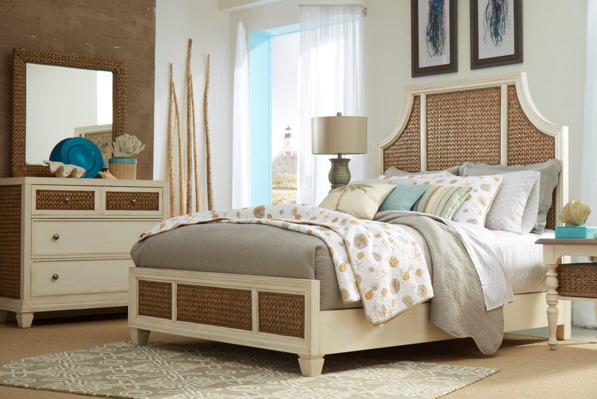 Panama Jack Bridge Hampton Seagrass 3 Drawer Dresser & Reviews ...