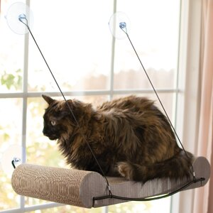 EZ Mount Scratcher Kitty Sill Elevated