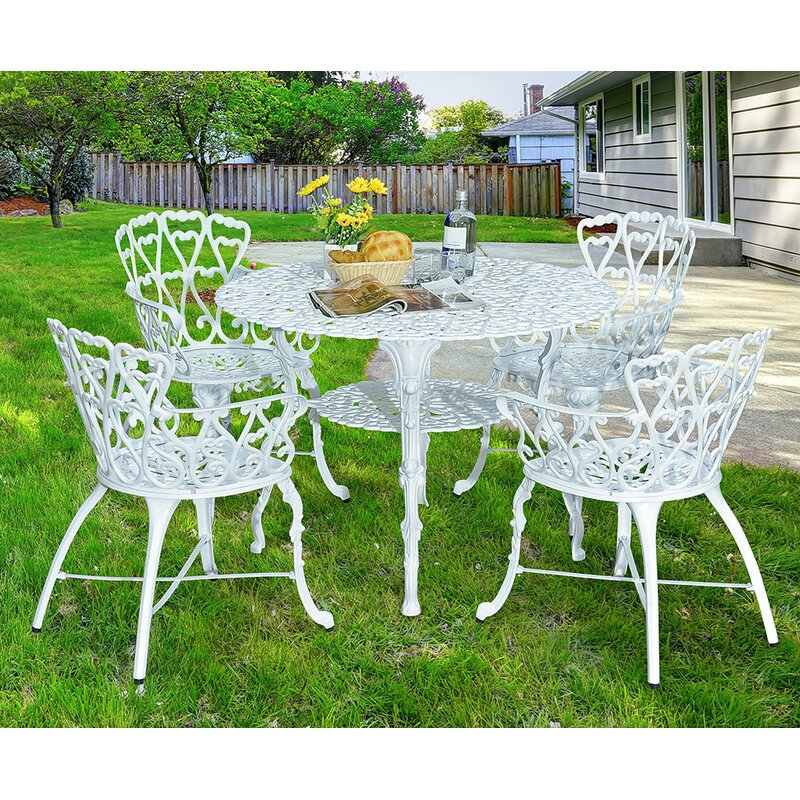 Victorian 5 Piece Dining Set