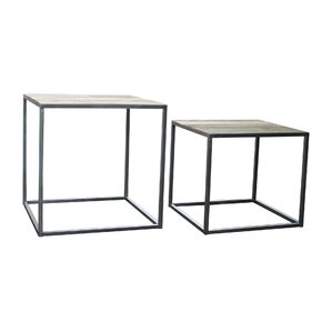 2 Piece Nesting Tables by BIDKhome