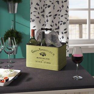 Bilel 6 Bottle Tabletop Wine Rack