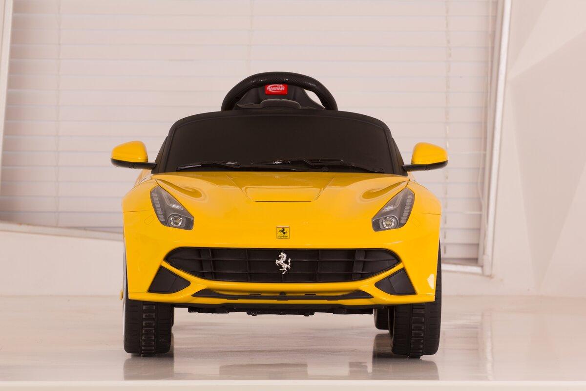 Vroom Rider Ferrari F12 Rastar 6V Battery Powered Car & Reviews ...