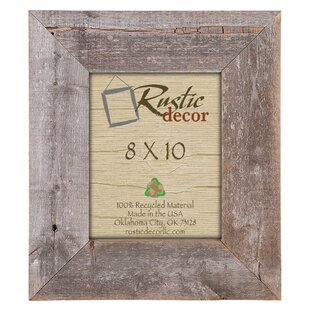 Barn Wood Reclaimed Extra Wide Wall Picture Frame