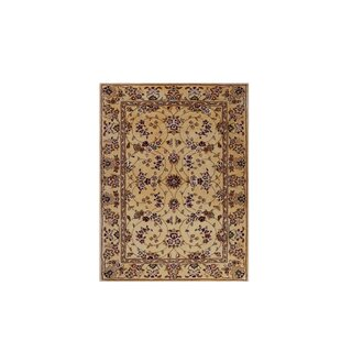 Drexel Heritage Hand Tufted Beige/Red Area Rug