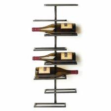 curren 8 bottle wall mounted wine rack