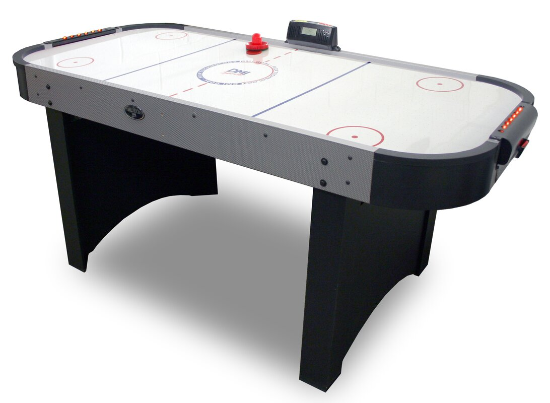 Verus sports 6 39 air hockey table with goal flex 180 for Table hockey