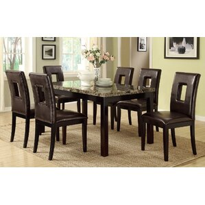 Leche 7 Piece Dining Set by A&J Homes Studio