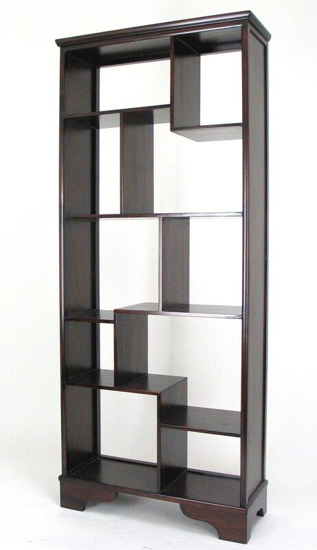 10 Compartment Geometric Cube Unit Bookcase