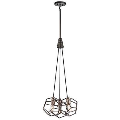 3 light cluster pendant drop ceiling light tomaz 3light cluster pendant allmodern