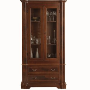 Lombardia Solid Wood Display Cabinet
