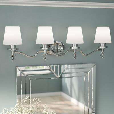 4 light vanity bulb edison sely 4light vanity light willa arlo interiors 3light reviews wayfair