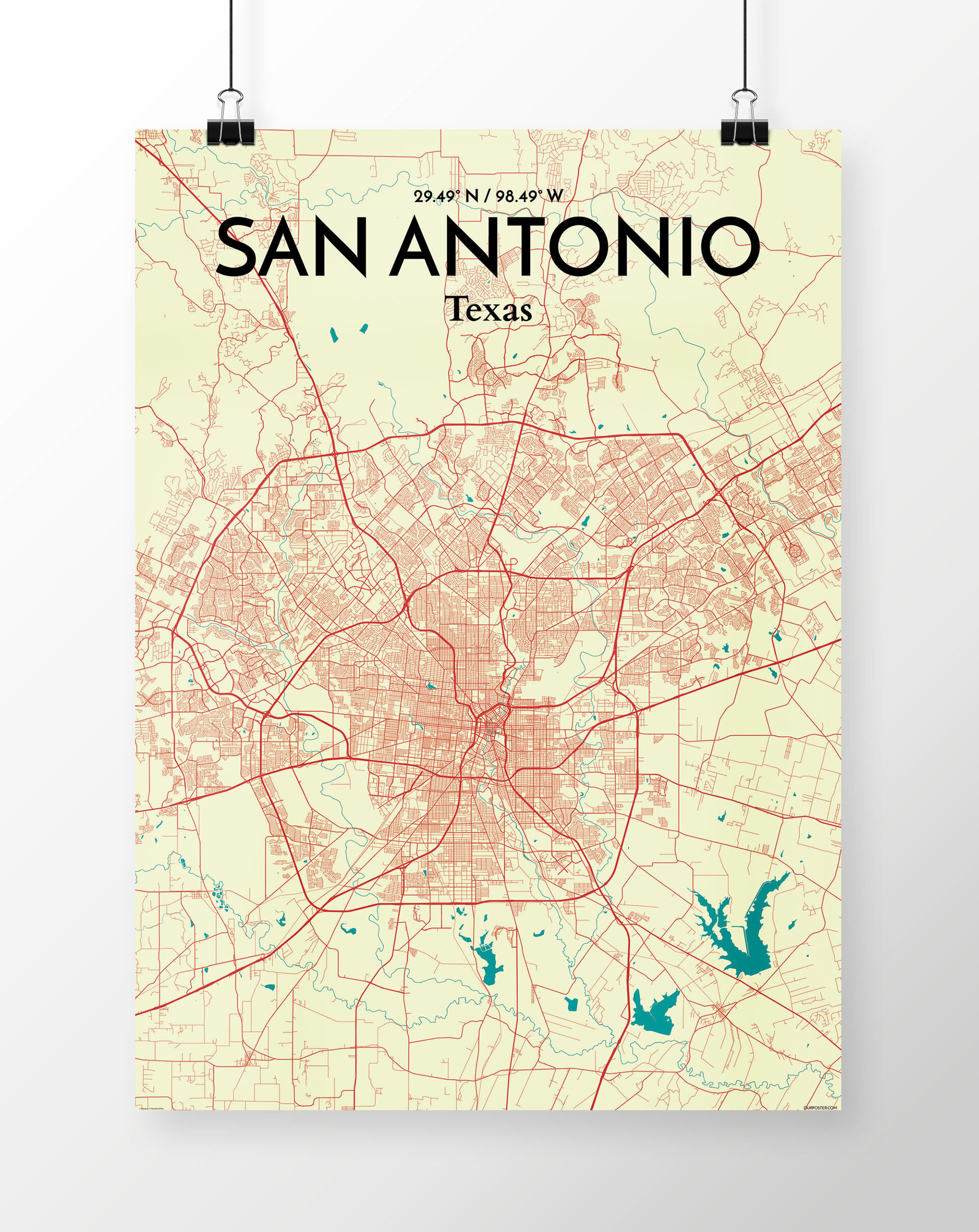 City Map Of San Antonio on