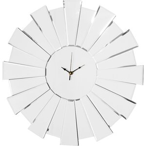 55cm Sunburst Mirror Wall Clock