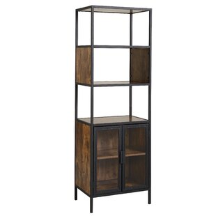 Nena Metal and Wood Display Stand with Glass Door  sc 1 st  AllModern & Modern Display Cabinets | AllModern