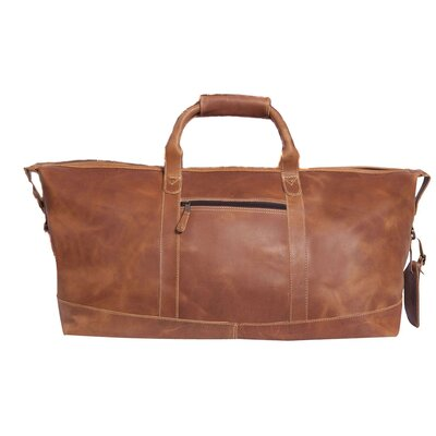 """Little River 22"""" Travel Duffel Canyon Outback Leather Color: Tan"""