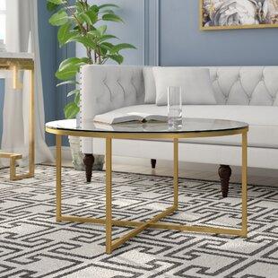 da84f9399c Glass Coffee Tables You'll Love | Wayfair.co.uk