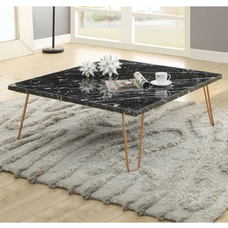 Wrought Studio Robblee Marble Top Coffee Table Wayfair
