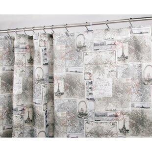 Paris Shower Curtain Sets | Wayfair