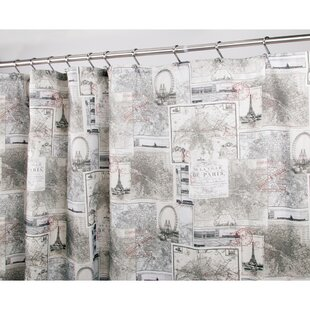 Paris Single Shower Curtain
