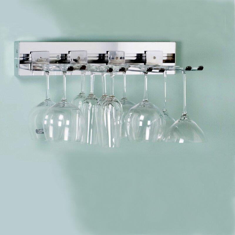 Arrange A E Wall Mounted Wine Gl Rack
